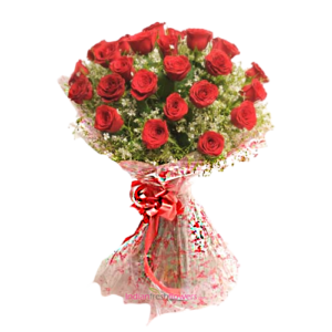 Popular Red 30 REd roses bunch