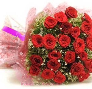 Surprises Someone 30 Red Roses Bunch
